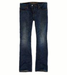 Ryan (32-30)-Medium Broken In Bootcut American Eagle Jeans
