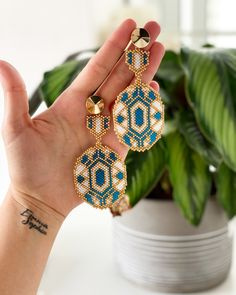 Diy Jewelry, Beaded Jewelry, Handmade Jewelry, Foot Bracelet, Accesorios Casual, Earring Tutorial, Brick Stitch, Bead Weaving, Necklace Designs