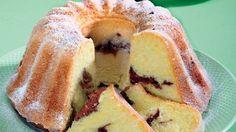 Cuketová bábovka na sladko | Recepty.sk Bagel, Doughnut, Cheesecake, Food And Drink, Sweets, Bread, Recipes, Basket, Gummi Candy