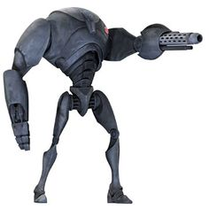 Super Battle Droid aka (Heavy Assault) (normal Droids don't have the canon) Star Wars Characters Pictures, Star Wars Pictures, Star Wars Images, Star Wars Clone Wars, Star Wars Rpg, Armadura Do Batman, Star Wars Battle Droids, Arte Nerd, Star System