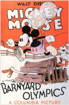 Barnyard Olympics posters for sale online. Buy Barnyard Olympics movie posters from Movie Poster Shop. We're your movie poster source for new releases and vintage movie posters. Mickey Mouse Y Amigos, Mickey Mouse Art, Classic Mickey Mouse, Walt Disney Mickey Mouse, Mickey Mouse Wallpaper, Mickey Mouse And Friends, Disney Wallpaper, Old Cartoons, Classic Cartoons