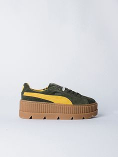 APLACE Cleated Creepersuede Lemon - Puma