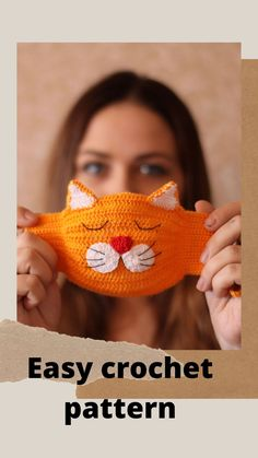 to sell ideas products Reusable Adult Face Mask With Filter Pocket Tutorial Washable Face Mask Easy Beginner Face Mask DIY Crochet Mask, Crochet Faces, Crochet Hooks, Double Crochet, Single Crochet, Cat Mask, Easy Crochet Patterns, Diy Face Mask, Face Masks