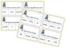 JEUX AUTOCORRECTIFS de grammaire CE1 - Caracolus Letter Identification, Bobe, French Immersion, French Class, French Language, Task Cards, Grammar, Literacy, Bullet Journal