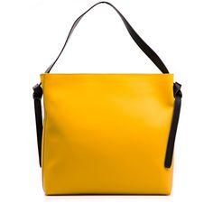 672f37809769 Kožená kabelka Aurelia žlutá - zvětšit obrázek