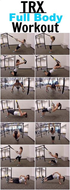 7 Exercises for a full body TRX workout! find more relevant stuff: victoriajohnson.w...