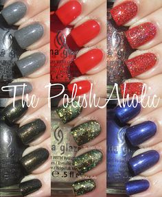 China Glaze Wicked Collection (Halloween 2012)