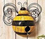 ... about Whimsical Bumble Bee BirdHouse Yard Garden Tree Decor NEW