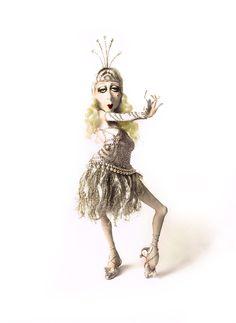 Van Craig Sculpture and Doll Art   Original Sculpture