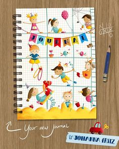 Johanna Fritz Journal as an assignment for Lilla Rogers Global Talent Search #Globaltalentsearch #journal #illustration