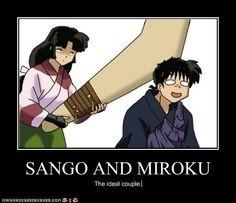 Sango and Miroku Funny | Sango And Miroku...