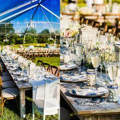 Middleburg Wedding Virginia | Wedding Photography Virginia | Vintage Decor Tablescape | Goodstone Inn | Clear Tent