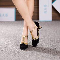 Thick Heels, Black High Heels, Black Shoes, Line Dance, Modern Dance, Suede Shoes, Shoes Heels, Dance Boots, Salsa Shoes