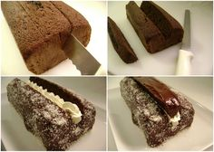Chocolate Lamington Bar Cake - Maris Cakes (English)