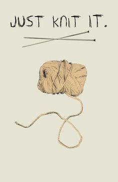 Just knit it.