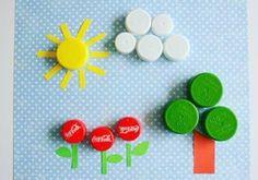 Bottle cap craft ideas   funnycrafts