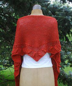 Ravelry: New Market Shawl pattern by Kristi Johnson