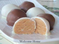 Welcome Home: Chocolate Covered Peanut Butter Balls
