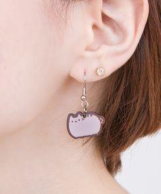 Pusheen the cat earrings