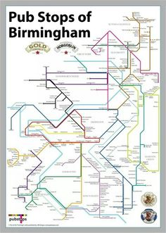 Birmingham pubs - been to a fair few of them anyway!                                                                                                                                                     More