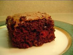 Recipes using cake mixes: #8 Triple Chocolate Cherry Bars - YouTube