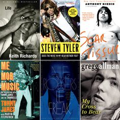 The 25 Greatest Rock Memoirs of All Time (According to Rolling Stone). SO many good books to read!