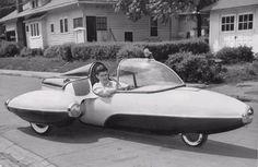 Old School Science Fiction — vintagegeekculture: Richard Harp's Jetmobile.