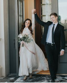 modest wedding dress with long sleeves from alta moda. photo by whitney brailsford