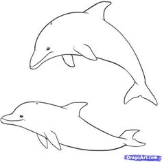 How To Draw Cute Cartoon Sea Creatures - Litle Pups