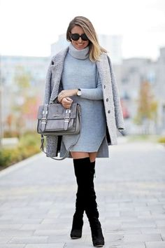 35 Catchy Outfit Ideas to Wear During Winter #Outfit http://seasonoutfit.com/2018/01/15/35-catchy-outfit-ideas-to-wear-during-winter/