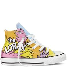 Chuck Taylor Dr Seuss from Converse. Shop more products from Converse on Wanelo. Converse Design, Kids Converse, Converse Sneakers, High Top Sneakers, Sneakers Design, Converse High, Converse Chuck Taylor All Star, Converse All Star, Chuck Taylor Sneakers
