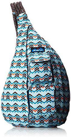 KAVU Women's Rope Sling Bag, Winter Wave, One Size KAVU http://www.amazon.com/dp/B00IQHP2WA/ref=cm_sw_r_pi_dp_PVBdub05PSY06
