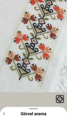 Hand Embroidery Design Patterns, Hand Embroidery Flowers, Cross Stitch Art, Le Point, Pattern Design, Bohemian Rug, Traditional, Crochet, Crafts