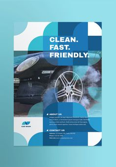 Car Wash Poster Template AI, EPS, INDD, PSD Poster Layout, Poster Ads, Sale Poster, Poster Prints, Leaflet Design Template, Poster Templates, Design Templates, Car Wash Posters, Professional Poster
