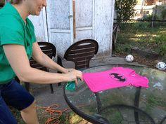 Crafty Betties: DIY Batman T-Shirt