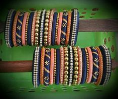Silk thread bangle designs - Latest Jewellery Design for Women Silk Thread Bangles Design, Silk Bangles, Bridal Bangles, Thread Jewellery, Indian Bangles, Diy Jewellery, Latest Jewellery, Indian Jewelry, Jewelery