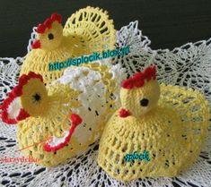 Cute crochet chicken with instructions
