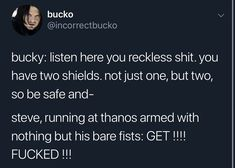 Bucky: After all these years. Funny Marvel Memes, Dc Memes, Avengers Memes, Marvel Jokes, Marvel Fan, Marvel Dc Comics, Marvel Avengers, Bucky And Steve, Fandoms