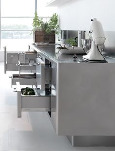 Perfect Professional Stainless Steel Kitchen EGO By ABIMIS By Prisma Design Alberto  Torsello Pictures