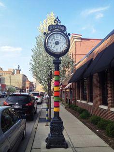 streetspun yarnbombing