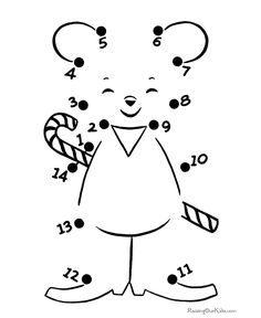 Coloring for kids coloring kids : by numbers for kids drawing at getdrawi. Easy Drawings For Kids, Drawing For Kids, Preschool Math, Preschool Worksheets, Dot To Dot Puzzles, Dot To Dot Printables, Free Worksheets For Kids, Dots Game, Dotted Page