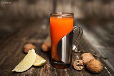 Ein schönes Wintergetränk: Hot Aperol. Mal eine Abwechslung zu Glühwein und Punsch.