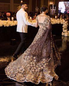 Indian Bridal Outfits, Pakistani Bridal Dresses, Indian Fashion Dresses, Pakistani Dress Design, Bridal Lehenga, Manish Malhotra Bridal, Indian Reception Outfit, Sikh Bride, Bae