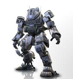 Titanfall: Ogre class Titan.