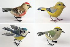 Songbird sculptures