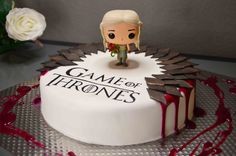 Game of Thrones Birthday Cake. Pop Vinyl Daenerys
