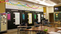 Tales of a High School Math Teacher: Classroom Set-Up