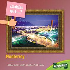 A #Monterrey se la conoce como La Ciudad de las #Montañas por las características formaciones que existen dentro y alrededor de la ciudad