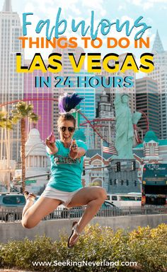 The challenge of having only one day in Las Vegas is there are so many things to do. Luckily, this itinerary guides you hour by hour through the perfect day so you can leave knowing you made the best of one day in Las Vegas.