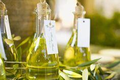 Italian olive oil wedding favors